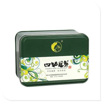 方形茶叶罐|订做白茶竞博jbo亚洲第一电竞平台|厂家生产马口铁茶叶罐