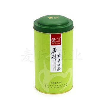 供应125g安吉白茶竞博jbo亚洲第一电竞平台、绿茶竞博jbo亚洲第一电竞平台竞博jbo亚洲第一电竞平台、精美子母盖茶叶罐
