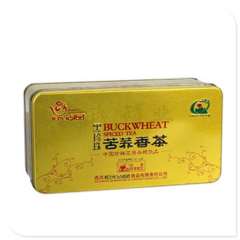 苦荞茶叶盒|精美茶叶竞博jbo亚洲第一电竞平台子|马口铁苦荞茶叶盒生产