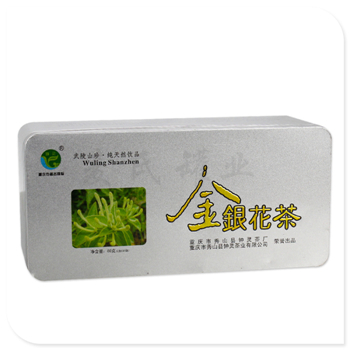 金银花茶叶盒
