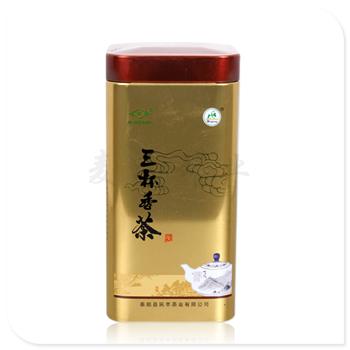 绿茶方形竞博jbo亚洲第一电竞平台 厂家生产茶叶罐 马口铁竞博jbo亚洲第一电竞平台盒