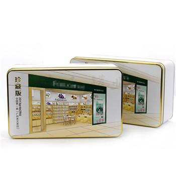 面膜马口竞博jbo亚洲第一电竞平台|长方形化妆品金属罐|面霜盒生产加工