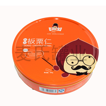 板栗仁圆罐