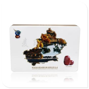 红枣方形竞博jbo亚洲第一电竞平台 供应马口铁农产品盒 麦氏竞博jbo亚洲第一电竞平台生产