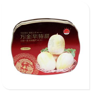 甜瓜种子竞博jbo亚洲第一电竞平台盒 异形竞博jbo亚洲第一电竞平台定做 马口铁农产品盒