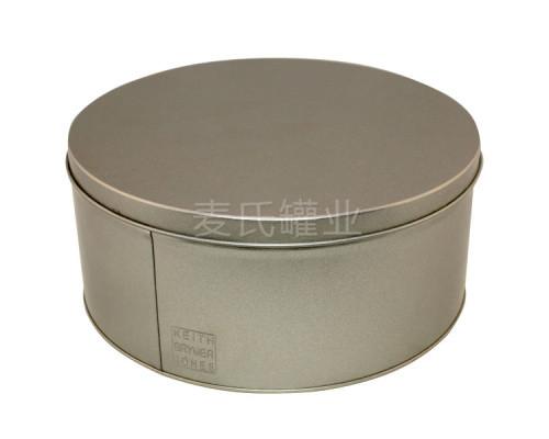 圆形磨砂竞博jbo亚洲第一电竞平台|无印刷铁皮盒生产
