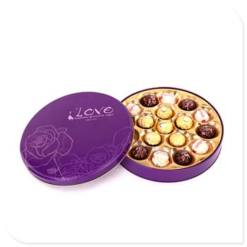 巧克力金属盒