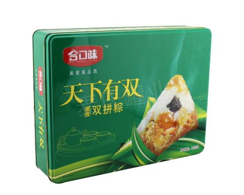 双拼粽子礼盒|端午粽子竞博jbo亚洲第一电竞平台生产工厂
