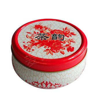茶韵茶叶圆盒